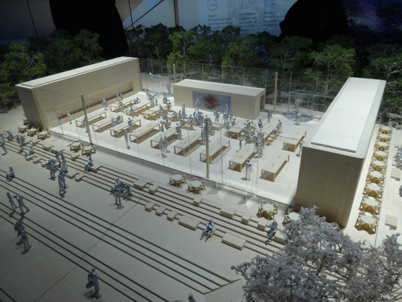 Så här har Apple tänkt att det ska se ut inne i den nya byggnaden.