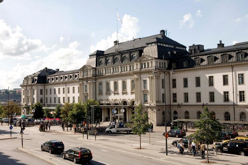 Dagens Centralstation.