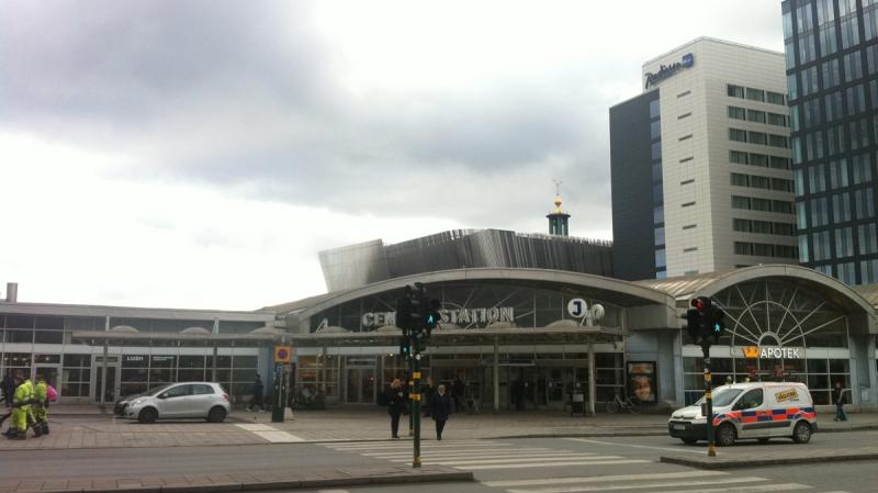Inte Stockholms charmigaste område.