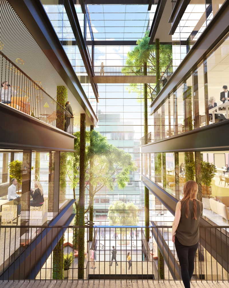 Planerad Vinterträdgård i fastigheten Trollhättan 30.