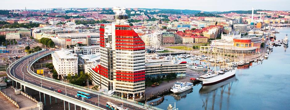 Kontorsfastigheten Läppstiftet/Lilla Bommen ligger i närområdet och ägs även den av Vasakronan.