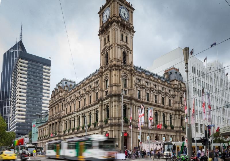 Den första H&M-butiken i Australien, i Melbourne. Lucas Dawson Photography