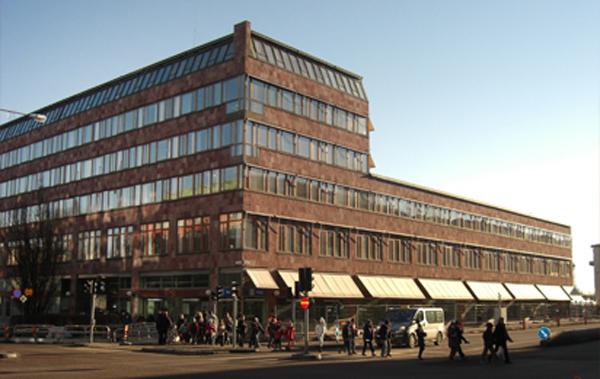 Uppsala stadshus som det ser ut idag.