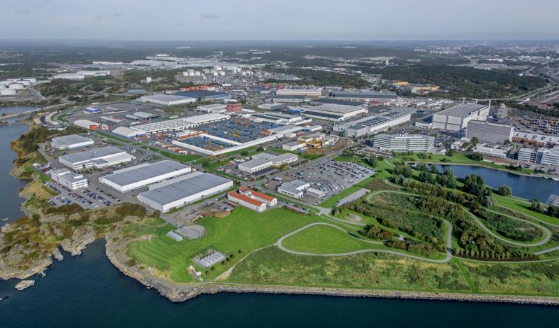 Platzers fastighetsförvärv från Volvo. Bild: JLL