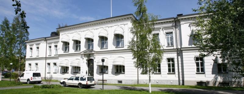 Fastigheten Läraren 1 i Umeå. Här finns Hovrätten för Nedre Norrland.