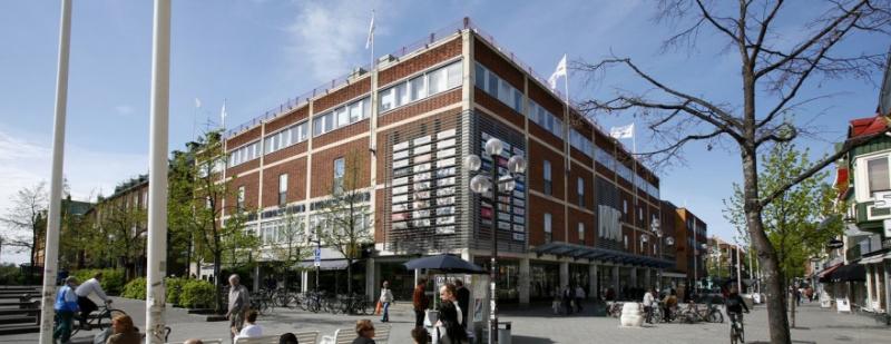 Fastigheten Odin 12 i Umeå innehåller MVG-gallerian.