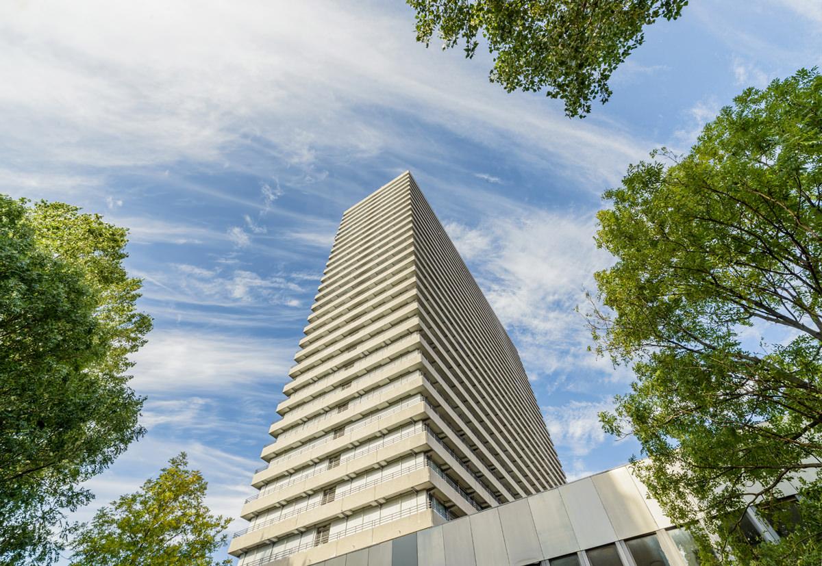 Akelius utökar beståndet i Köpenhamn genom att förvärva stadens högsta bostadshus. Bild: Leimdörfer.