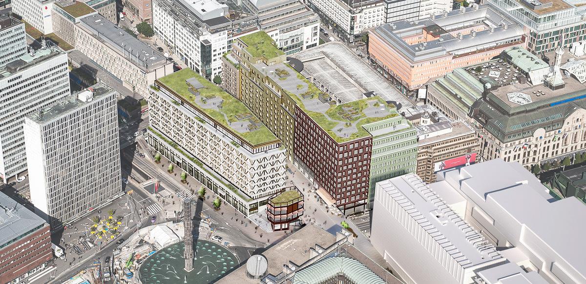 Vasakronan planerar för att bygga om tre fastigheter vid Sergels torg efter att SEB flyttar ut. Läs mer här. Planerna har fått ett positivt mottagande även om bolaget därefter fick rita om den tänkta nya fasaden mot Sergels torg.