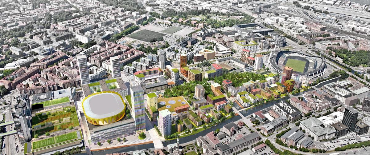 a104698fc7069e Stor satsning på arenor och bostäder i Göteborg   Fastighetsvärlden
