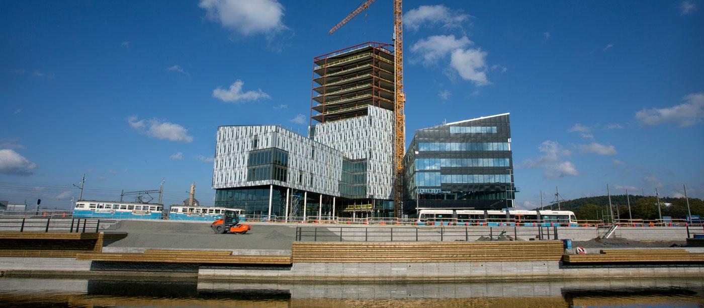 afb77e2b63f198 Göteborgs stad i stor förhyrning i Platzers nya kontorsprojekt vid  Gamlestads torg.
