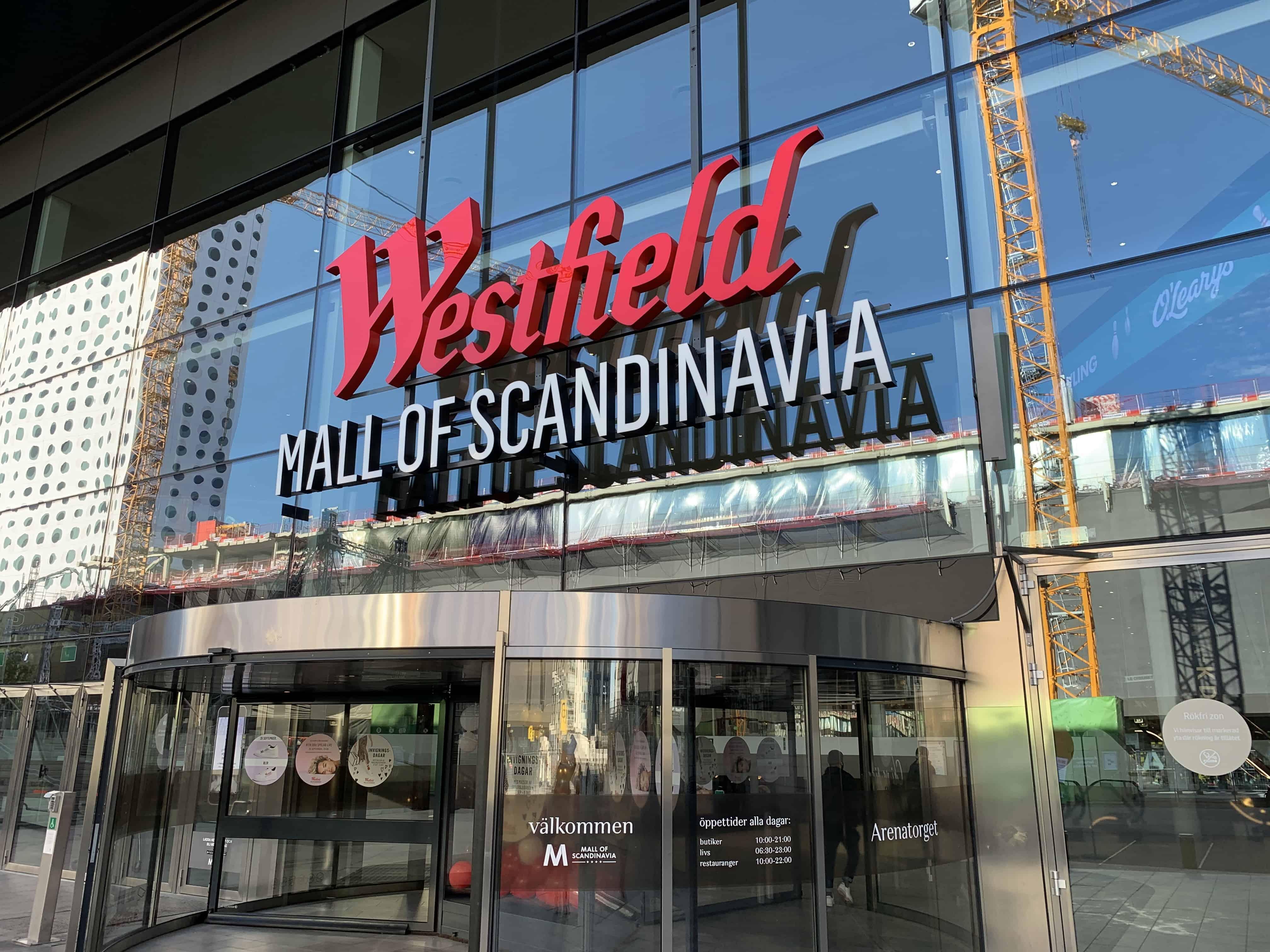 när öppnar mall of scandinavia
