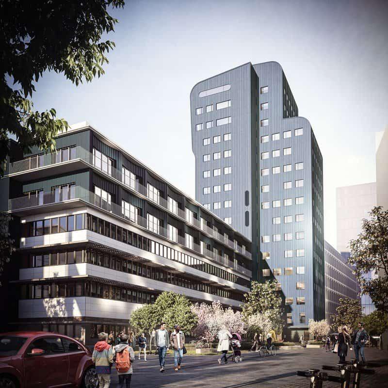 Stena utvecklar kontor med orangeri för 190 miljoner