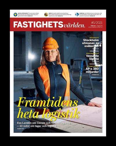 Omslag till magasinet FV 1/2021.