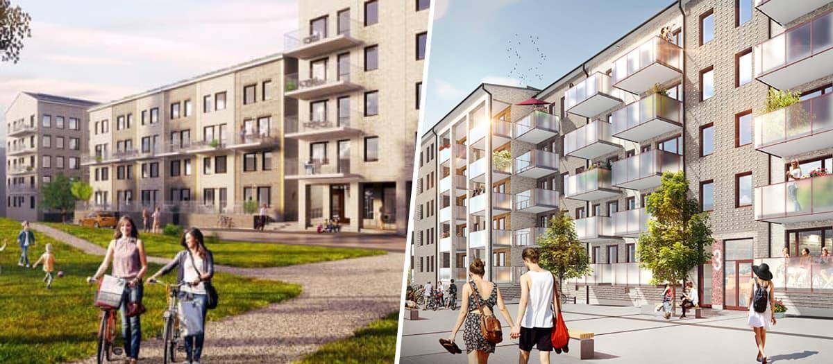 JM gör miljardaffär i Järfälla och Täby – säljer till SPP